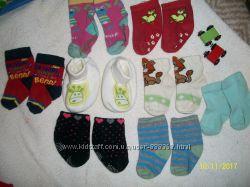 Носочки и пинетки на крошку от рождения и старше
