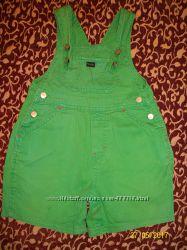 Ярко зеленый комбинезон Mothercare 1-2 года