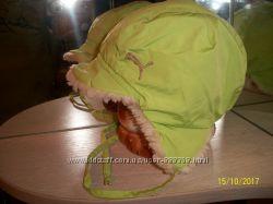 Зимняя шапка новая на 48-50 см