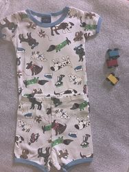 Веселая пижама с собачками на 1-2 года