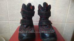 черные термо-ботинки 31 размера