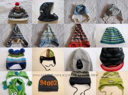 Шапка демисезонная флис шлем осенняя теплая зимняя на мальчика
