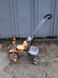 Велосипед Milly Mally трехколесный с ручкой детский