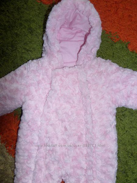Продам теплый комбинезон для новорожденных