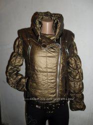 Новинка  Куртка- косуха с камнями