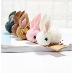 Заколки для волос детские Cute Rabbit, разные цвета