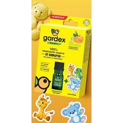 Защита от комаров экстракт  наклейки Gardex Baby