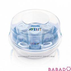 Avent стерилизатор бутылочек для микроволновой печи
