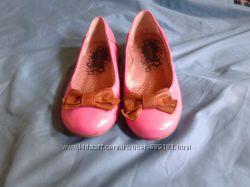 Centro очаровательные, милые розовые балетки туфельки 36 р 23см