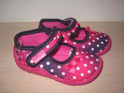 Текстильные тапочки Vi-gga-mi для девочки, тапки, домашние р. 18-27