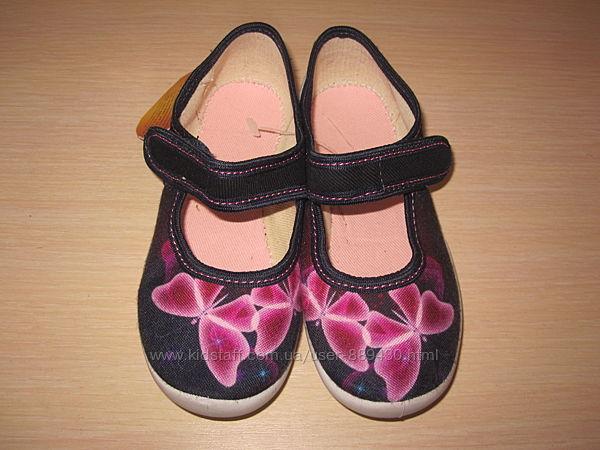 Текстильные тапочки Vi-gga-mi для девочки, тапки, домашние р. 26-36 вигами
