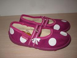 Текстильные тапочки Vi-gga-mi czeszka-61b для девочки, домашние р. 26-36