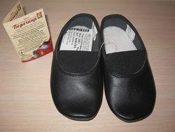 Чешки кожаные, Берегиня Украина черные, разные размеры