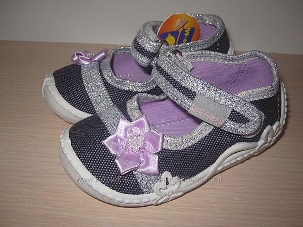 Текстильные тапочки Vi-gga-mi Lenka-58 для девочки, тапки, домашние р. 18-2