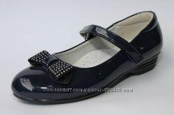 Туфли на девочку школьные арт. 130-1 Kellaifeng р. 32-37