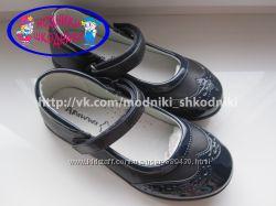 Туфли школьные на девочку арт. 816 р. 26-30 Apawwa нарядные туфлі шкіль