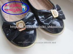 Туфли школьные на девочку арт. 300-215 р. 25-30 Шалунишка нарядные туфлі