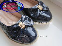 Туфли школьные на девочку арт. 300-208 р. 30-35 Шалунишка нарядные туфлі