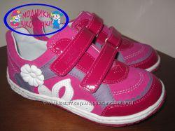 Кожаные польские туфельки на девочку Renbut 23-3093 р. 26-30 шкіряні якісні