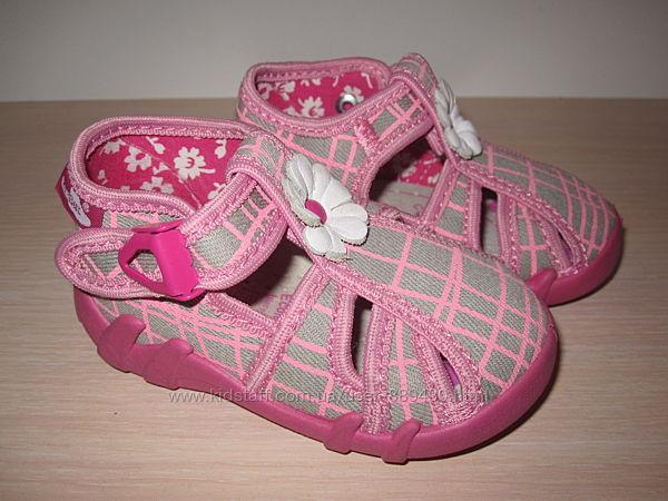 Текстильные тапочки Renbut арт. 13-106 для девочки польша