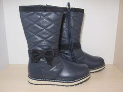 Зимние сапоги Clibee для девочки Н-84 р. 27-32 ботинки, сапожки клиби зимов