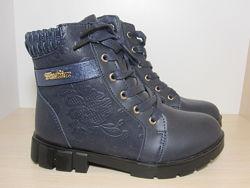 Зимние ботинки Eebb J555 р. 33-38 для девочки