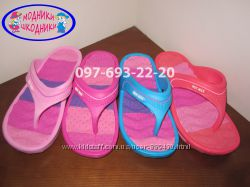 Вьетнамки для девочки арт. 6560 р. 30-35 пляжные шлепанцы, тапочки пляжні