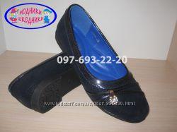 Туфли школьные на девочку арт. XY-6 р. 30-37 нарядные туфлі шкільні для шко