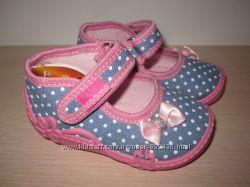 Текстильные тапочки Vi-gga-mi для девочки, Agatka тапки, домашние р. 18-27