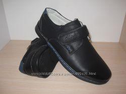 Туфли школьные на мальчика черные Clibee арт. Р-192 р. 32-37 туфлі чорні