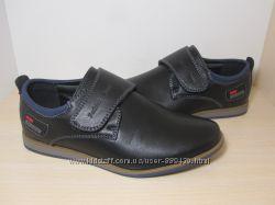 Туфли школьные на мальчика черные Paliament арт. 6930 р. 31-36 туфлі чорні