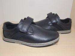 Туфли школьные на мальчика синие Tom. m арт. 3827-В р. 33-38 туфлі сині шкі