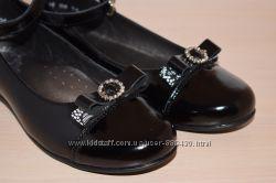 Туфли кожаные школьные Берегиня на девочку 0751 р. 29-35 туфлі шкільні