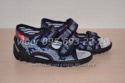 Текстильные польские босоножки Тм Renbut арт. Jeans 13-112 р. 19-25 Польша,
