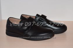 Туфли школьные кожаные классические арт. С1675-2 Kangfu р. 31-36 шкіряні