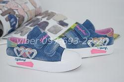 Кеды на девочку Comfort арт.9058-11 р.25-30 джинсовые кеди на дівчинку