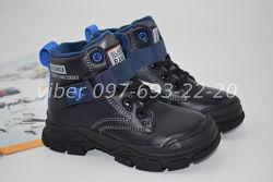 Ботинки демисезонные на мальчика Jong golf арт. 30057-1 р. 26-31 ботиночки