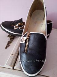 Туфли  молодежные натуральная кожа  37 размер