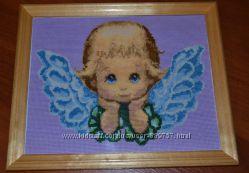 Продам картину ручной работы Ангелочек