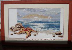 Продам картину ручной работы Морской пейзаж