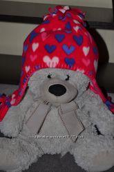 Новая флисовая шапка 2-4года