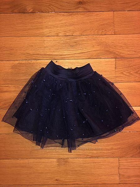 Красивая юбочка с бусинками