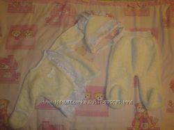 Костюм и одеяло для выписки из роддома