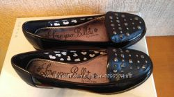 Балетки туфли George 3,  35 36 размер, стелька 22, 5см. Новые