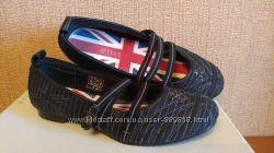 Балетки туфли мокасины Next Flag 36 размер, стелька 23. 5см Новые