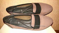 Мокасины балетки туфли Geox 38 39 размер, стелька 25, 5см