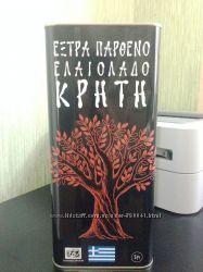Оливковое масло Crete Extra Virgin о. Крит Греция 5л жб высший сорт