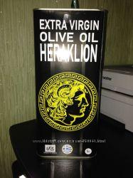 Оливковое масло Heraklion Extra Virgin о. Крит Греция 5л жб высший сорт