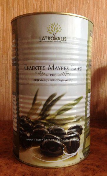 Маслины и оливки Latrovalis Греция 5 кг Супергигант, акционная цена