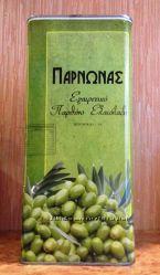 Оливковое масло Extra Virgin Olive oil Parnonas 5л жб Оригинал